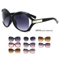 □女性的で柔らかな印象のデザインサングラス。UV対策(紫外線対策)&オシャレにオールシーズン使える ...