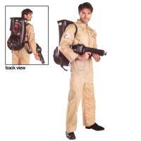 ゴーストバスターズ公式ライセンスの大人用コスチュームです。  【商品内容】 ジャンプスーツ、膨らむプ...