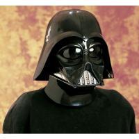 映画スターウォーズより、ダースベイダーのマスクとヘルメットセット。  マスクとヘルメットを組み合わせ...