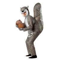着ぐるみ 動物 ハロウィン コスプレ 衣装 リスの大人用コスチューム