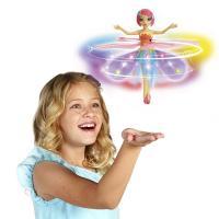 【サイエンストイ 化学 科学おもちゃ 教材 玩具 英語】 光るスカートが羽になり、くるくる回って手の...