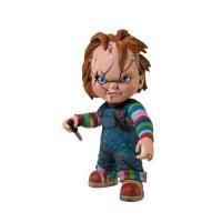 ホラー映画チャイルド・プレイの殺人人形チャッキーのフィギュア・人形です。  高さ約18cm, ハード...
