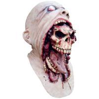 長い舌で頭蓋骨を今にも投げつけそうな恐ろしいラテックス製マスクです。ほとんどの成人にフィットするスタ...