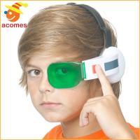 アニメ「ドラゴンボールZ」より、緑のスカウター。プラスチック製のヘッドバンド付きで、左側の目と耳にか...