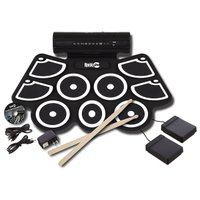 電子ドラムです。MIDI機能が付いているのでPCとつないで録音することができます。 折りたたみ可能で...