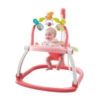 首が座っており、まだ歩けない、そんなお子様向け室内遊具です。 ジャンプする動きを楽しむ遊具で、動くた...