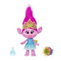 ドリームワーク製作のアニメ「トロールズ」よりトロール人形のキャラクターポピーの人形です。  ・高さ約...