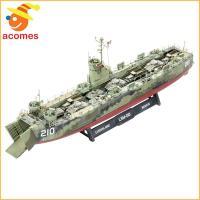 ドイツレベル社のアメリカ海軍中型揚陸艦1/144スケールプラモデルです。  【含まれるもの】 *2ピ...