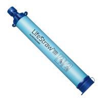 雨水や川の水などが飲めるようになる!ろ過装置LifeStrawです。  最大1,000リットルまで対...