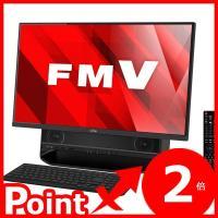 □FUJITSU ESPRIMOシリーズ  □27型大画面、高音質デスクトップPC □高輝度・高色純...