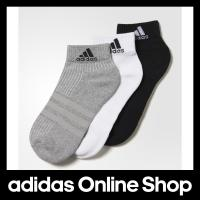 【商品名】 【公式】adidas アディダス 3S パフォーマンス 3Pショートソックス 【靴下】 ...