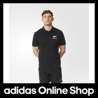 【商品名】 【公式】adidas アディダス オールブラックス ポロシャツ Essentials  ...