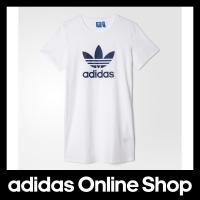 【商品名】 adidas ワンピース アディダス オリジナルス ワンピース Tシャツ [TREFOI...