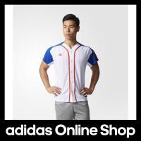 【商品名】 アディダス ジャケット adidas US ベースボールシャツ  【カラー】 ブルー  ...