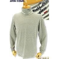 30%off セール シナコバ  ゴルフウェア ちょい悪 大きいサイズ ハイネックポロシャツ sina cova 2019秋冬新作 メンズ 19250070-150