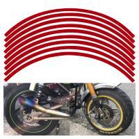 バイク用品 オリジナル ホイール リム ステッカー ラインテープ  選べる ホイール サイズ 選べる カラー