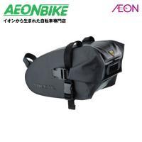 防水素材を強化し、カラーをブラックに統一した「ストラップ マウント」着脱システムのサドルバッグ。 ・...