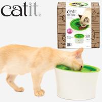 ペット工学に基づいた設計で、大食いの防止や、 お留守番時のお食事に。 成猫も子猫も使いやすい形です。