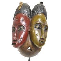 グロ族双子マスク
