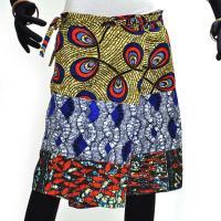 腰巻きスカート