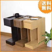 幅20cmのスリムタイプのナイトテーブルです。 サイズ:幅20×奥行き36×高さ50(cm)重量:約...