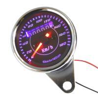 LED採用の汎用スピードメーターです。 ・12V ・サイズ 直径: 約60mm、全高: 約55mm ...