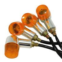 明るい ミニウインカー 丸型(オレンジ)4個 汎用