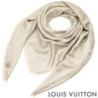 ▼商品紹介 LOUIS VUITTONで不動の人気を誇る、大判の「モノグラム ショール」 シルクの滑...