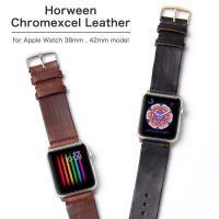 【製品の特徴】 高級なワークブーツに用いられる「ホーウィン社」製レザーで作るNATOタイプ腕時計ベル...