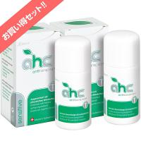制汗剤 AHCセンシティブ 30ml 2本セット(脇汗 臭い ワキガ 腋臭 顔汗 デオドラント 胸汗 身体の汗と臭いに) 医薬部外品