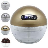 ころんとボール型の空気洗浄機はお部屋のインテリアにぴったり。  空気中のホコリや臭いを集めて空気をク...