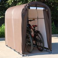 自転車を屋外で快適に保管してくれるバイクテント!  雨に当たって錆びたり、強風による自転車転倒などの...