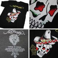 エドハーディー Tシャツ メンズ 半袖 S-XL メキシカン/白黒 ドン エド・ハーディー エド ハーディー EDHARDY 5223