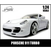 PORSCHE 911 TURBO! 信頼のブランドJadaToys社で作られた、細部までこだわった...