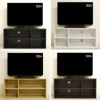 テレビ台  幅は約89cm、送料無料(北海道・東北・九州・沖縄・離島を除く)お客様による組立が必要です。32型以下の薄型液晶テレビに最適です♪