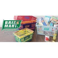 BRISK MART マーケットバスケット(S)買い物かご 買い物カゴ スーパーマーケット かごバス...
