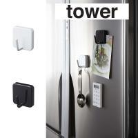 強力磁石で冷蔵庫などにピタッとくっつく便利で使いやすい大きめサイズのマグネットフック。調理器具やエプ...