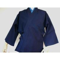 作務衣【薄手】藍染濃紺|aiira-ensyu|02