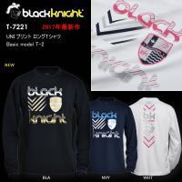 8c23e2a62786 2017最新作 ラックナイト BLACK KNIGHT バドミントン スカッシュ ユニ ウェア 長袖プラクティスシャツ Tシャツ プラシャツ T -7221
