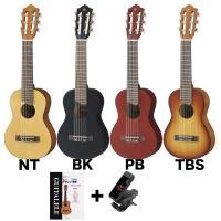 ウクレレのようなコンパクトなボディサイズの、433mmスケールのナイロン弦ギターです。どこにでも持っ...
