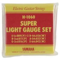 YAMAHA H-1060×1 エレキ弦/スーパーライト/セット弦×1(H1060)/メール便発送・代金引換不可