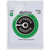 MARTIN MA170S×1 /メール便発送・代金引換不可 [10-47]AUTHENTIC ACOUSTIC MARQUIS SILKED/Extra Lightアコギ弦