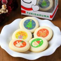 [品名] クリスマスクッキー(焼き菓子) [内容量] 1箱5枚入り(個包装) [絵柄] サンタクロー...