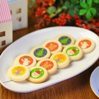[品名] クリスマスクッキー(焼き菓子) [内容量] 1箱10枚入り(個包装) [絵柄] サンタクロ...