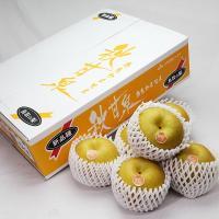 「秋甘泉」は、二十世紀と豊水の優れたところを併せ持つ梨の新品種です。シャキッとした心地よい食感は二十...