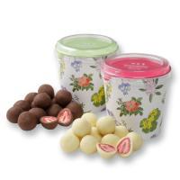六花亭 ストロベリーチョコ 2種詰め合わせ フリーズドライのストロベリーにチョコレートがコーティング...