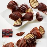 ポテトチップとチョコレートが織り成すハーモニー。 シンプルな味わい[オリジナル]&カカオの美味しさ広...