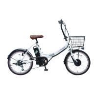 電動アシスト自転車 20インチ 折りたたみ自転車 電動自転車 シマノ外装6段変速  PELTECH ペルテック TDN-206