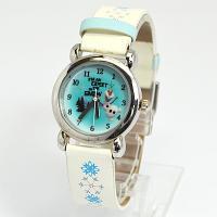 *。.+:*。Disney アナと雪の女王*。.+:*。  オラフが描かれた可愛い腕時計。ベルトのデ...