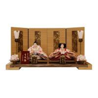 雛人形 彩鳳二人飾り 親王飾り 有職雛 平安関光作